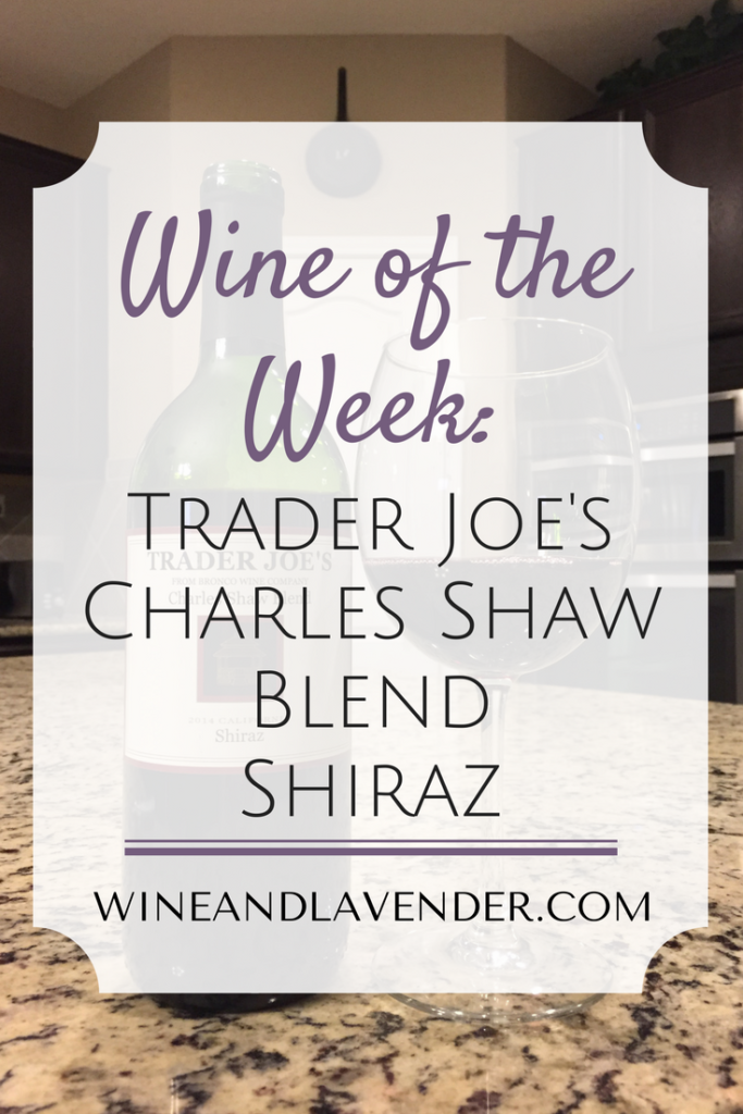 Trader Joes Charles Shaw Shiraz Wine Review