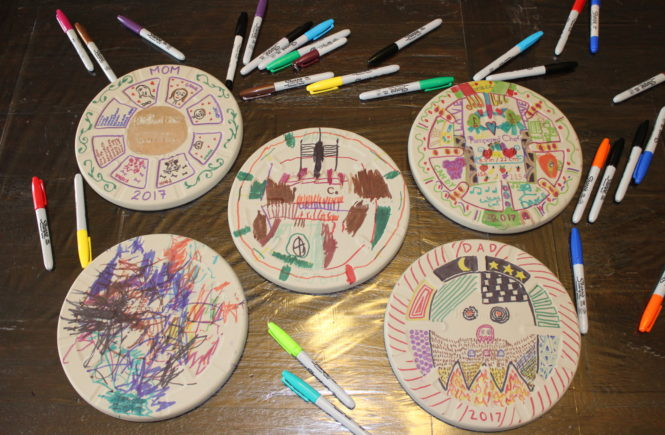 Check out this great Family Activity- a personalized pizza stone activity for kids. Click here.