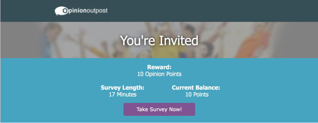 Make money from home with Opinion Outpost online surveys. Click here for more information.