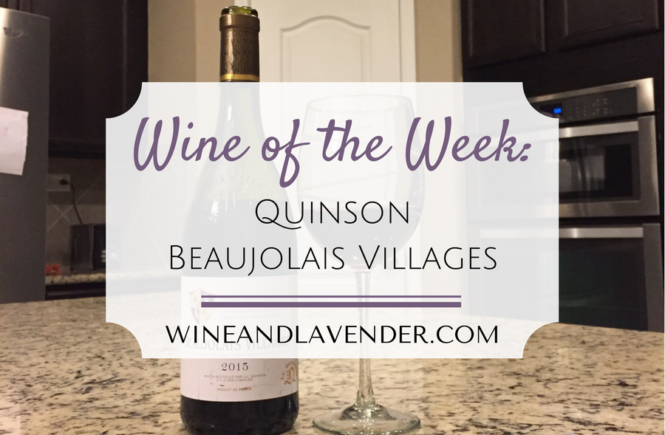 Here is a red wine review in plain terms of Quinson Beaujolais Villages! Check it out here.