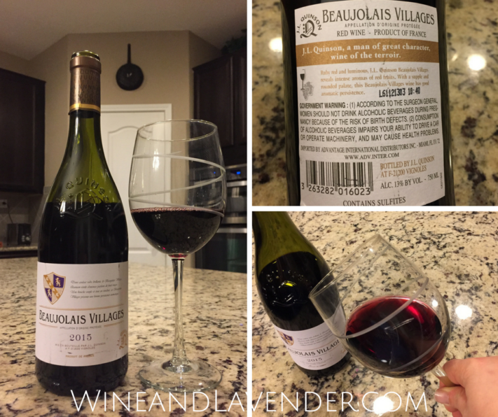 Looking for affordable and accessible wines? Check out this wine review in plain terms of Quinson Beaujolais Villages! Click here.