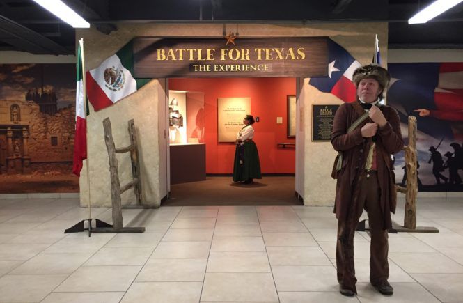 Experience the battle at the Alamo through this exhibition of 250+ artifacts. Battle for Texas in San Antonio is an experience like no other that immerses you into the battle through information and feeling. Check it out by clicking here.