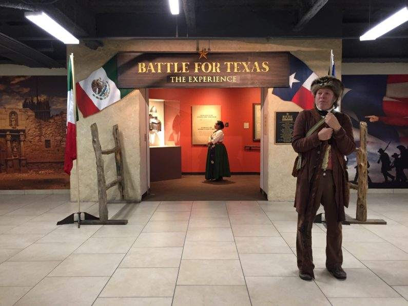 Experience the Battle of the Alamo at Battle for Texas!