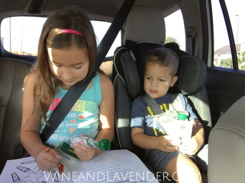 Going on Road Trips with Kids is easy when you've got the right snacks and activities. Find out more about Tree Top Apple Sauce Pouches and how to make your car ride easier! Click here.