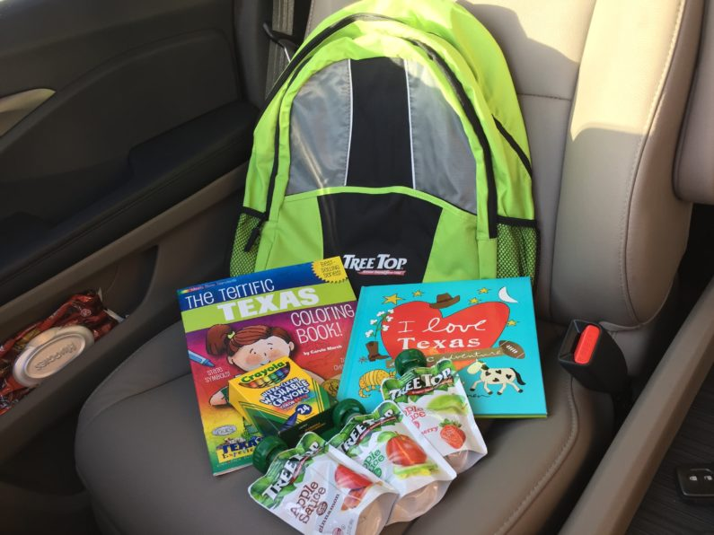 Surviving Road Trips with Kids: Snacks and Activities