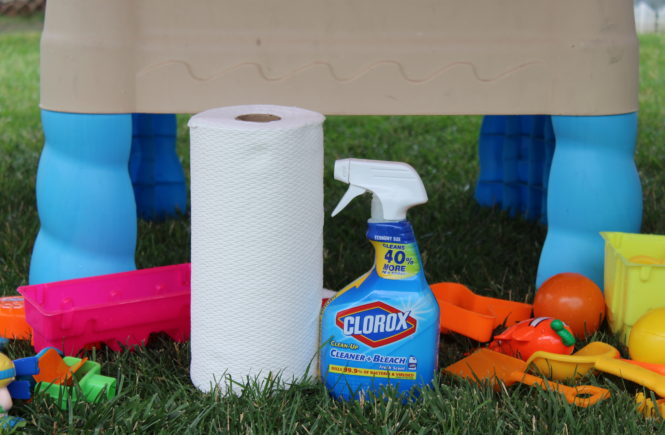 Ad: Sometimes summer fun can get messy, but there's a quick and easy way to get it all cleaned up! Find out more about how @Clorox and @VivaTowels can help you enjoy your summer- without the mess. #UnleashtheCleanSquad !