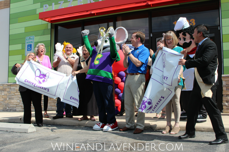 The grand re-opening of Chuck E Cheese's was fun! Find out how they've changed here.