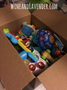 Box of Baby Toys WL