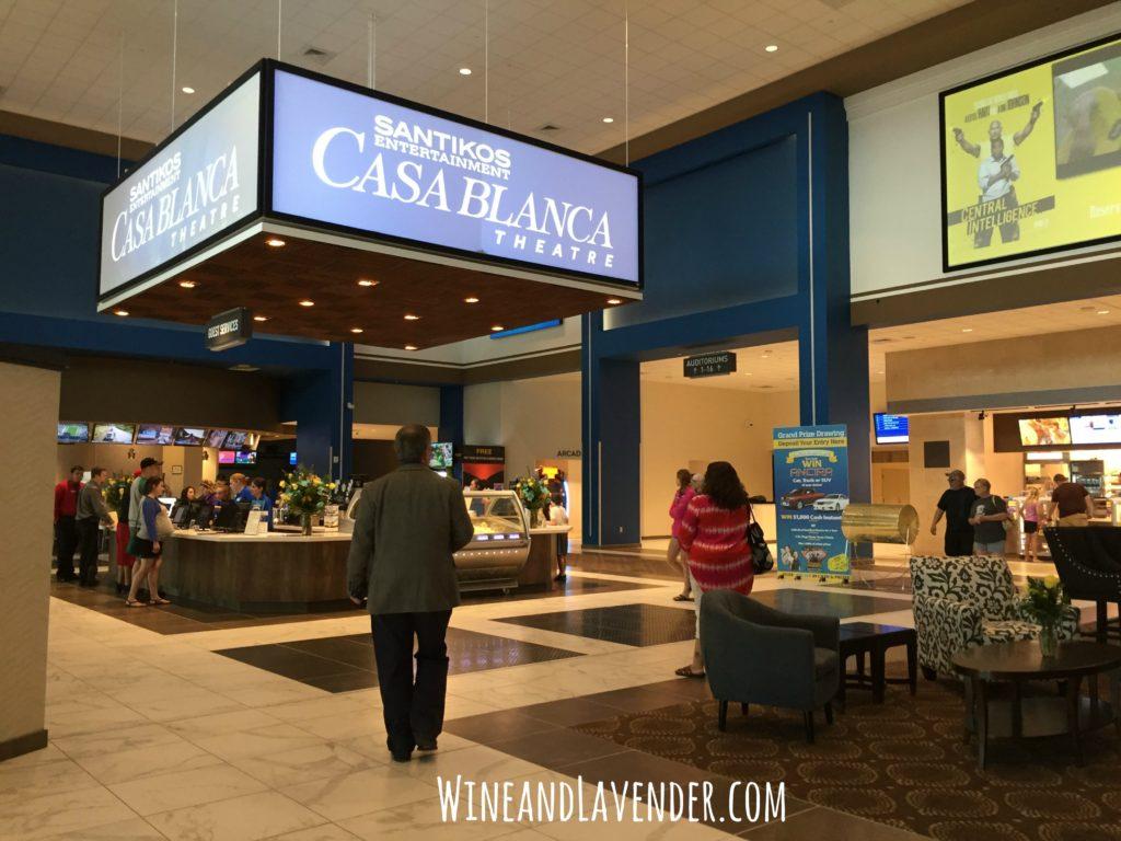 Santikos Casa Blanca Theatre Lobby