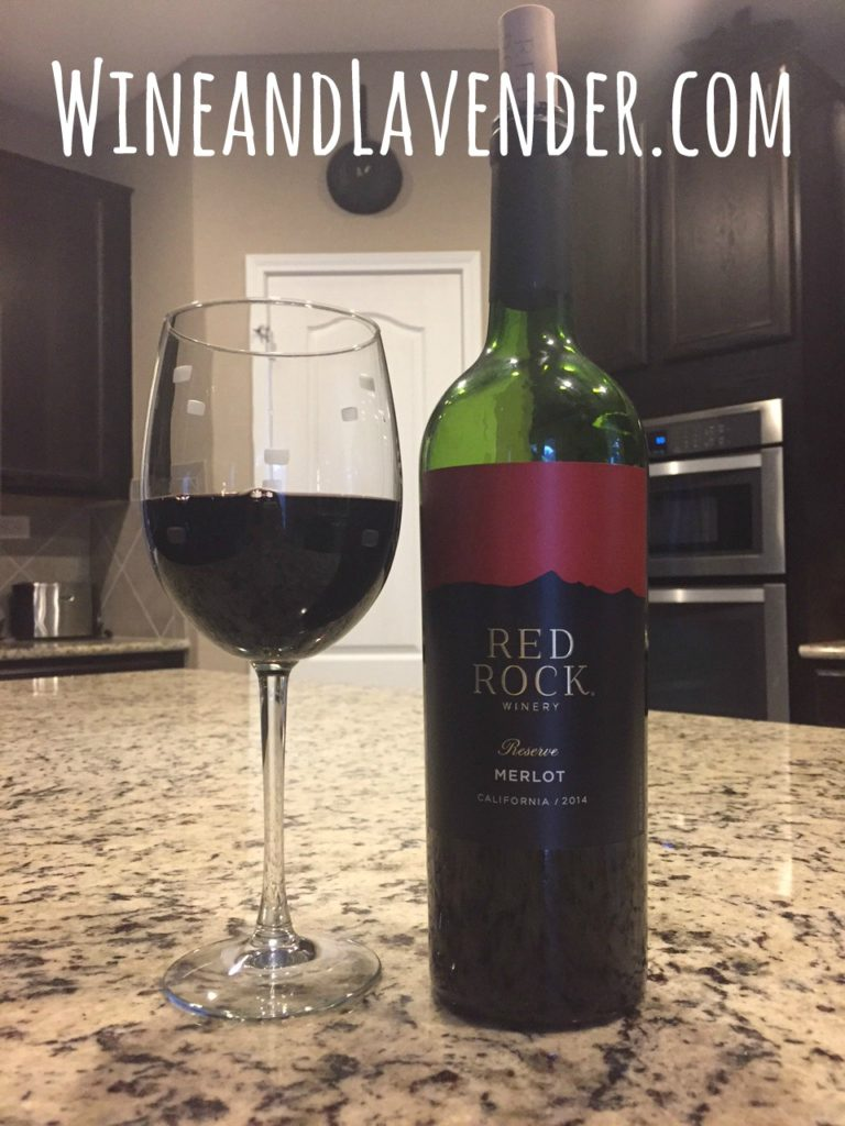 Wine of the week red rock merlot