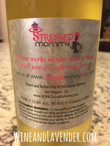 Stressed Mommy Chardonnay