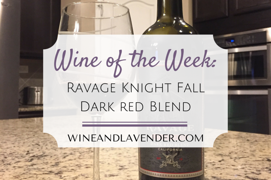 Wine of the Week: Ravage Knight Fall Dark Red Blend