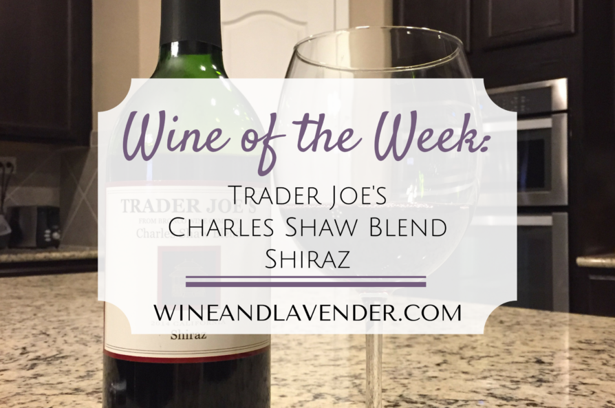 Wine of the Week: Trader Joe's Shiraz