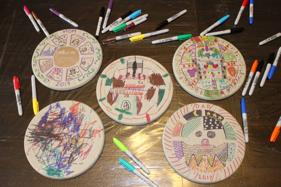 Personalized Pizza Stone Activity for Kids