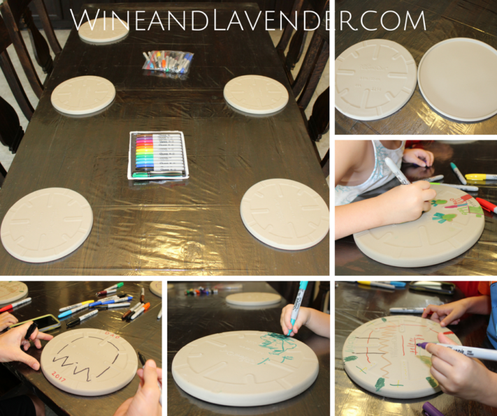 Pampered Chef Personal Pizza Stones are great for decorating and a fun activity for kids! Click here to find out more.