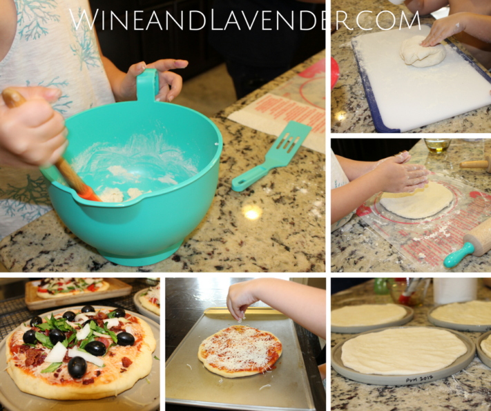 Have fun making pizza with the kids with this personalized pizza making activity. Click here.