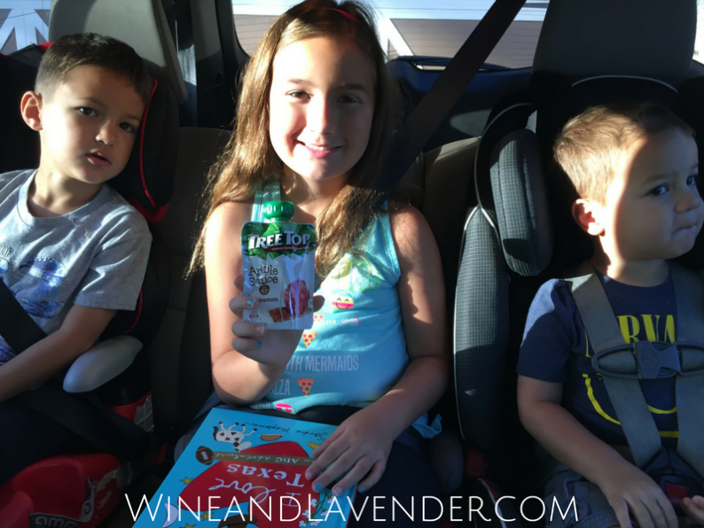 Tree Top Apple Sauce pouches and activities are the perfect duo for keeping kids healthy and busy during summer road trips. Find out more about our experience here.