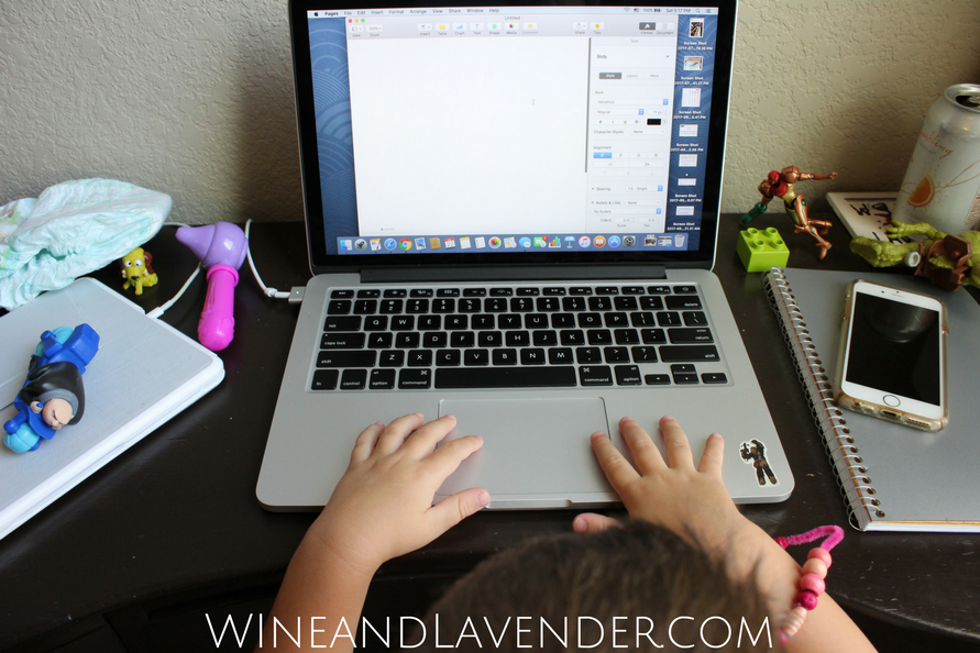 Are you a Work At Home Mom? Are you struggling with schedules, life, and routines? Here's what pushed me to drop the mom guilt and pursue a career for myself... with kids on board. Click here.