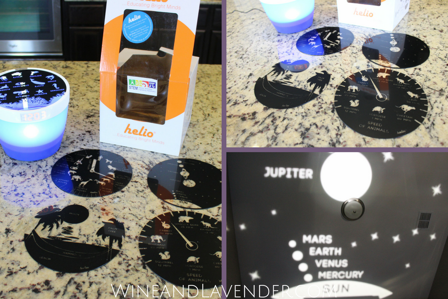 This STEM toy, the Helio Night Light Projection system, is more than a toy- it's a great gift for kids- find out why here.