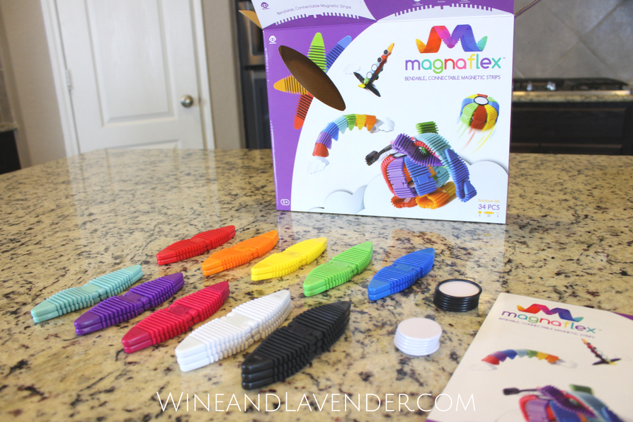 Looking for Great Gifts for Kids? Check out Magnaflex by WowWee. These bendable and connectable magnetic strips are not only fun, but can result in hours of playtime that fosters creativity. Find out more about them here.