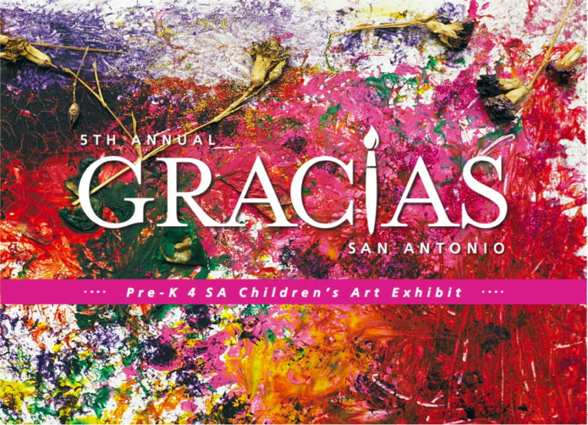 Gracias San Antonio: Children Are Citizens allows Pre-K 4 SA students to give back to the community in a big way! Check out the 5th Annual Gracias Art Exhibit and auction. Proceeds go to the San Antonio Children's Shelter. Find out more here.